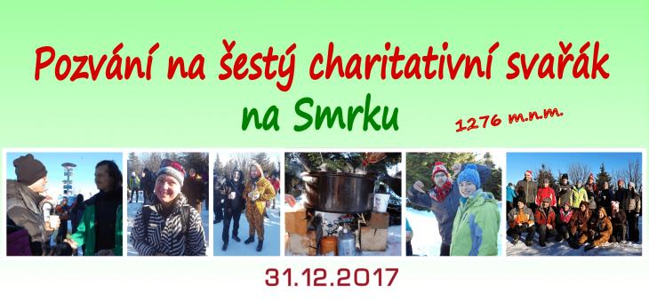 Pozvání na 6. charitativní svařák na smrku